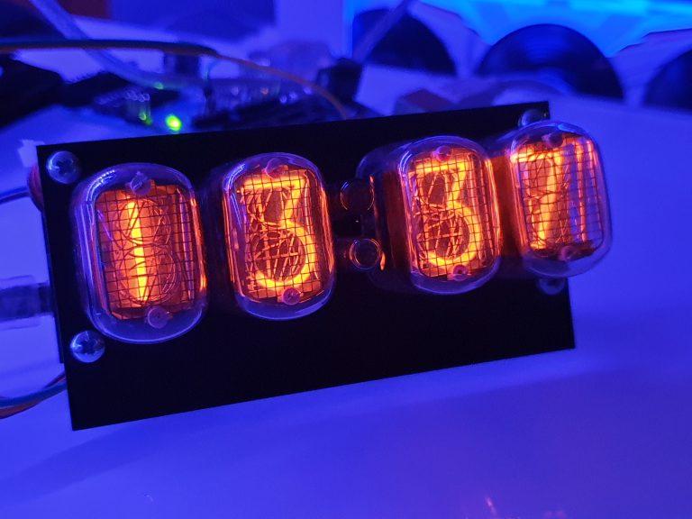 Nixie Clock update